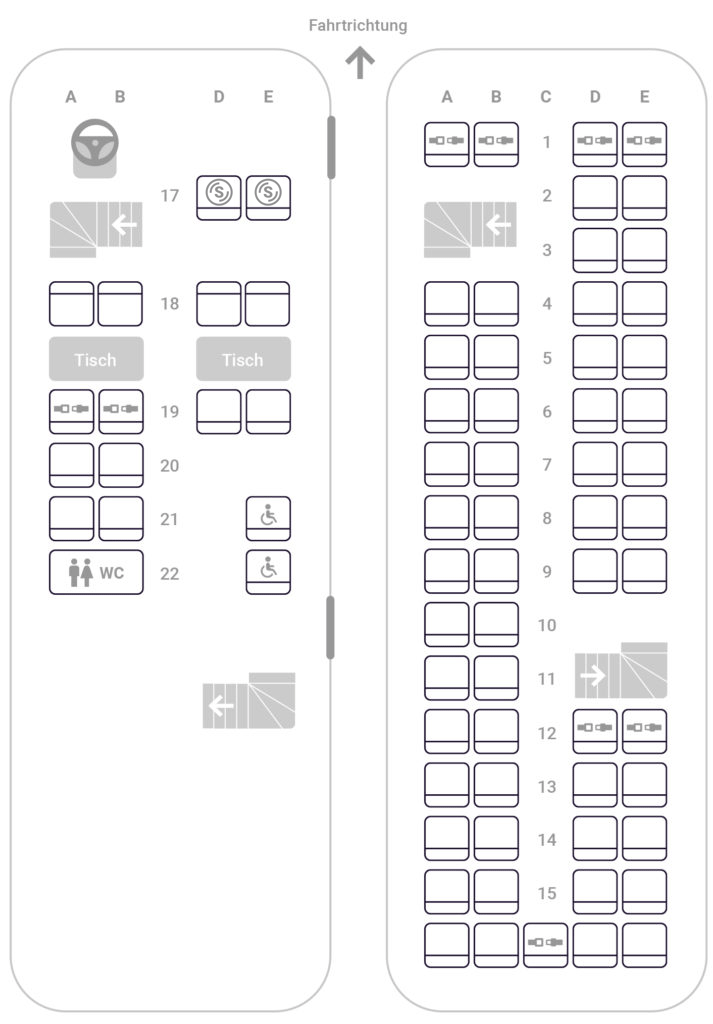 Sitzplatzreservierung Flixbus
